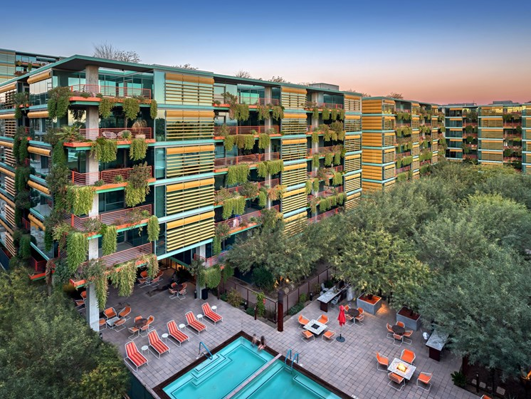 Community areas and other amenities at our luxury apartment community